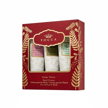 Picture of TOCCA Crèma Veloce Set - Set of 3 Lotion Tubes