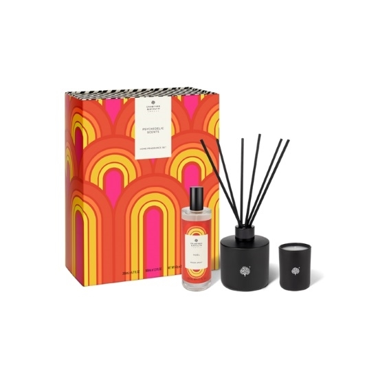 Picture of Crabtree & Evelyn Psychadelic Scents Noel Home Fragrance Set