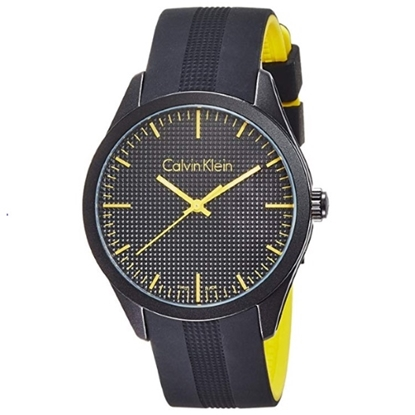 Picture of Calvin Klein Color Alumimum Men's Watch with Black Dial