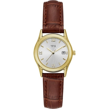 Picture of Bulova TFX Ladies Corporate Collection Brown Leather Watch