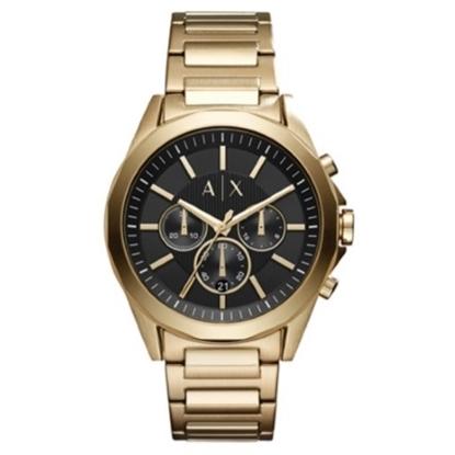 Picture of Armani Exchange Men's Gold-Tone Chrono Watch