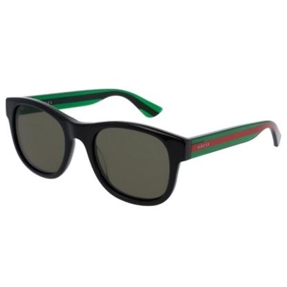 Picture of Gucci Urban Pop Nylon Wayfarer - Black/Green Striped