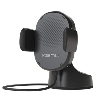 Picture of Kenu Airbase Wirelesss Fast Charging Suction Mount - Black