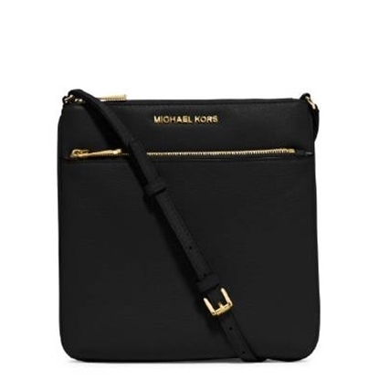 Picture of Michael Kors Riley Small Flat Crossbody - Black