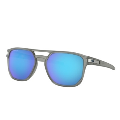 Picture of Oakley Latch Beta - Matte Grey Ink/PRIZM Sapphire Polarized
