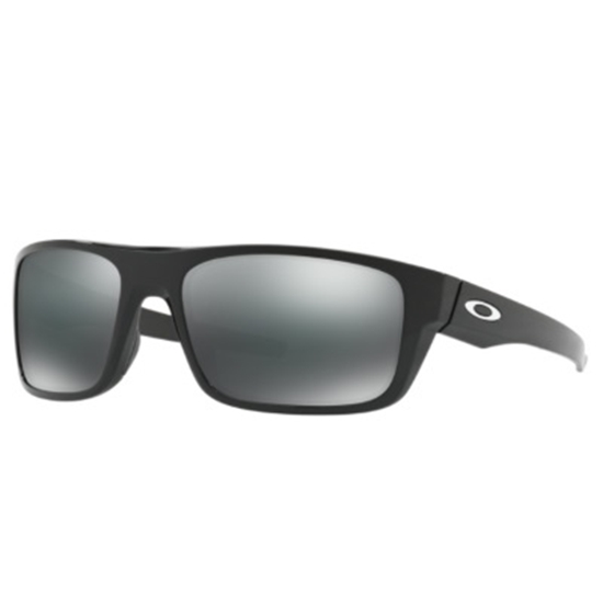 Picture of Oakley Drop Point Sunglasses - Polished Black/Black Iridium