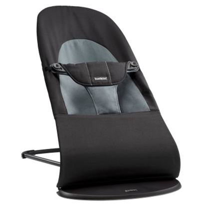 Picture of BabyBjörn Bouncer Balance Soft Cotton - Black/Dark Grey