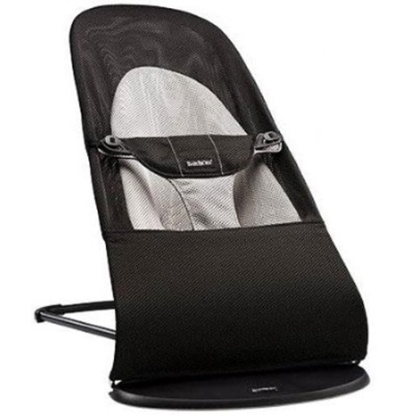 Picture of BabyBjörn Bouncer Balance Soft Mesh - Black/Gray