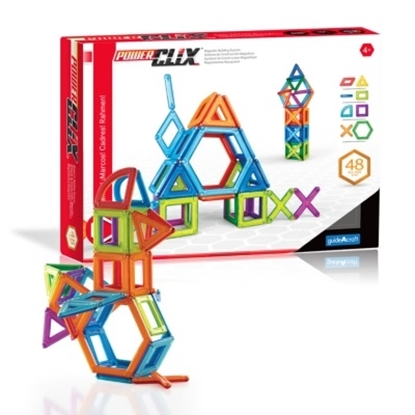 Picture of Guidecraft PowerClix Frames 48-Piece Set