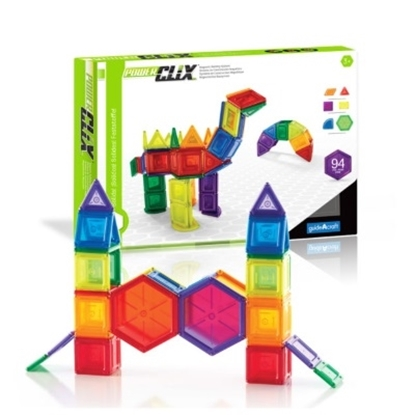 Picture of Guidecraft PowerClix Solids 94-Piece Set