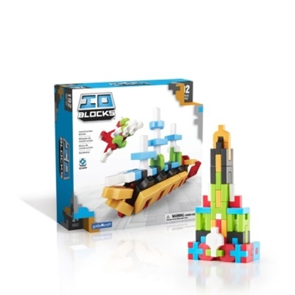 Picture of Guidecraft IO Blocks 192-Piece Set