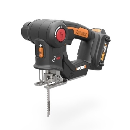 Picture of WORX 20V Axis Cordless Reciprocating & Jig Saw