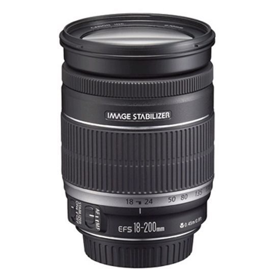 Picture of Canon EF-S 18-200mm f/3.5-5.6 IS Autofocus Lens