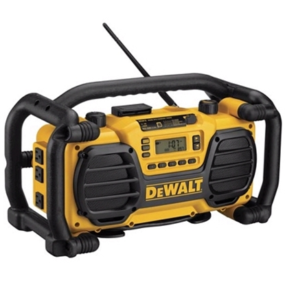 Picture of DeWalt® Heavy-Duty Worksite Charger/Radio