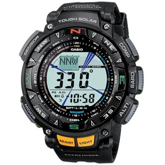 Picture of Casio Pro Trek Tough Solar Men's Watch - Black