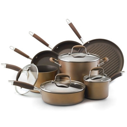 Picture of Anolon® Advanced 11-Piece Cookware Set - Bronze
