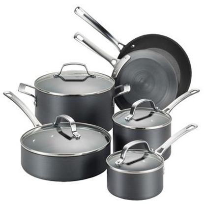 Picture of Circulon® Genesis 10-Piece Hard Anodized Cookware Set