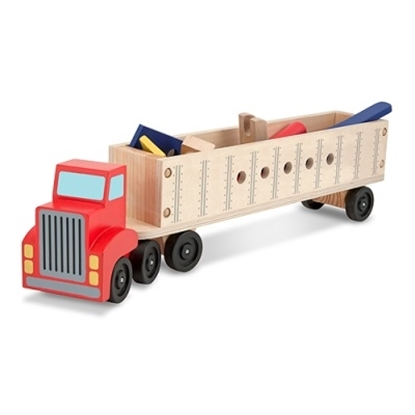 Picture of Melissa & Doug® Big Rig Building Set
