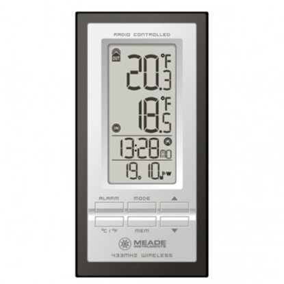 Picture of Meade® Personal Weather Station with Atomic Clock