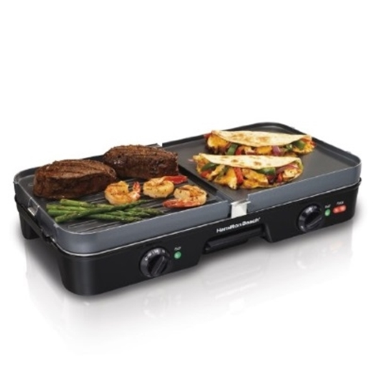 Picture of Hamilton Beach® 3-in-1 Electric Grill & Griddle