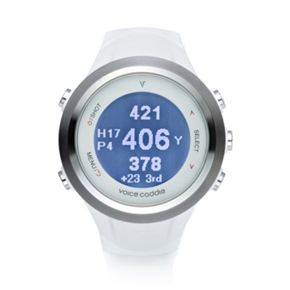 Picture of Voice Caddie T2 Hybrid Golf GPS Watch - White
