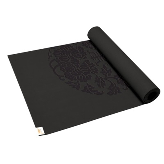 Mileageplus Merchandise Awards Gaiam Sol Sure Grip Yoga Mat Black