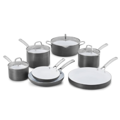 Picture of Calphalon® Classic Ceramic 11-Piece Nonstick Cookware Set