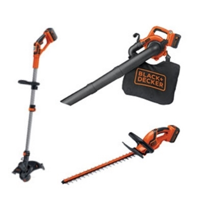 Picture of Black & Decker Trimmer and Sweeper/Vac Set