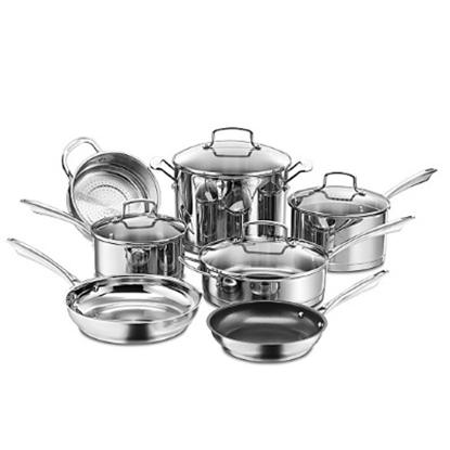 Picture of Cuisinart® Professional Series Stainless 11PC Cookware Set