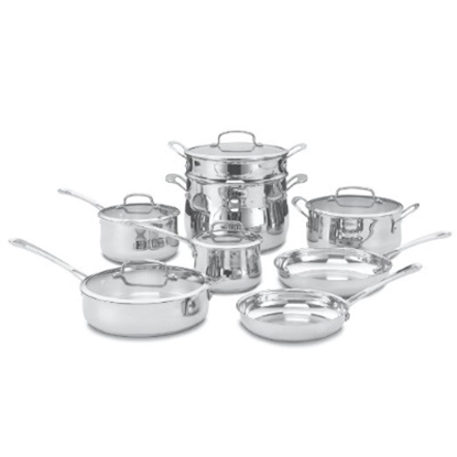 Picture of Cuisinart® Contour Stainless 13-Piece Cookware Set
