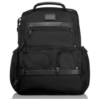 Picture of Tumi Alpha 2 Compact Laptop Brief Pack - Black