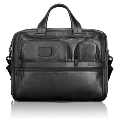 Picture of Tumi Alpha 2 Expandable Organizer Laptop Leather Brief