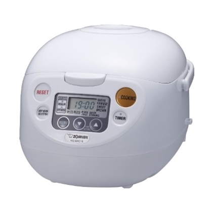 Picture of Zojirushi Micom 5.5-Cup Rice Cooker & Warmer - Cool White