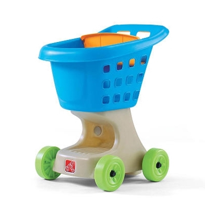 Picture of Step2® Little Helper's Shopping Cart - Blue