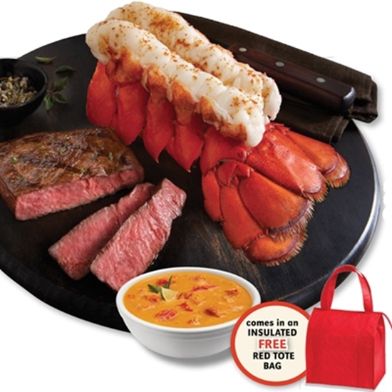 Picture of Lobster Gram Giant Tails and Filets