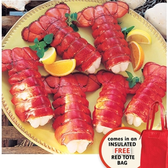 Picture of Lobster Gram's Maine Tail Six Pack Gift Bag