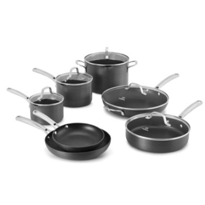 Picture of Calphalon® Classic Nonstick 12-Piece Cookware Set - Black