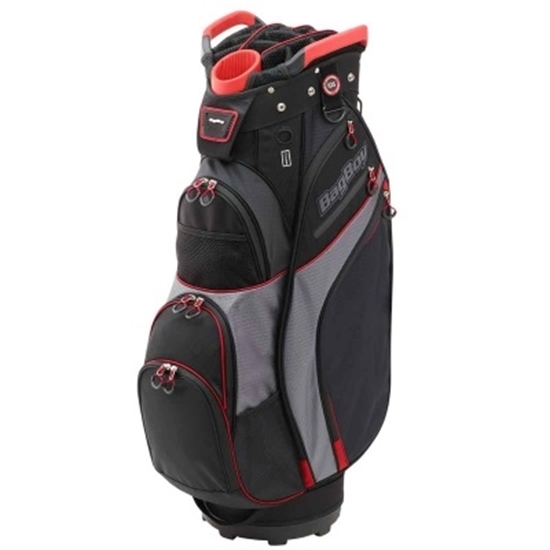 Picture of BagBoy® Chiller Cart Bag - Black/Charcoal/Red