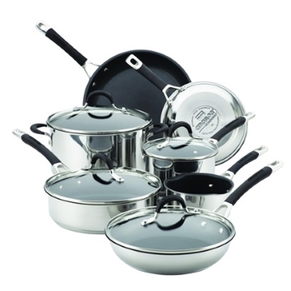 Picture of Circulon® Momentum 11PC Nonstick Stainless Steel Cookware
