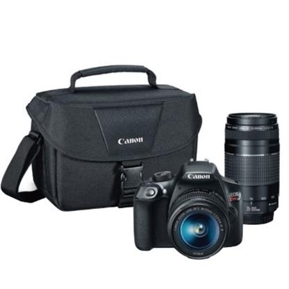 Picture of Canon EOS Rebel T6 18.0MP DSLR Bundle w/ Lenses, Bag & SD Card