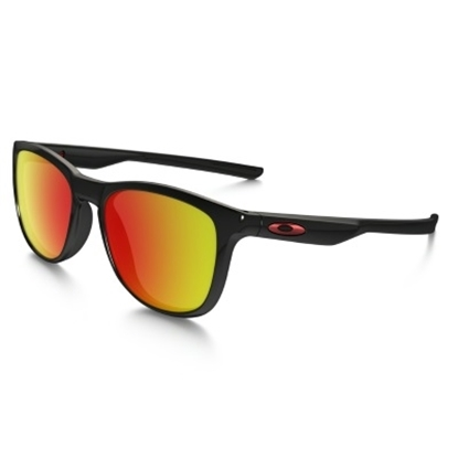 Picture of Oakley Trillbe X Sunglasses - Polished Black/Ruby Iridium