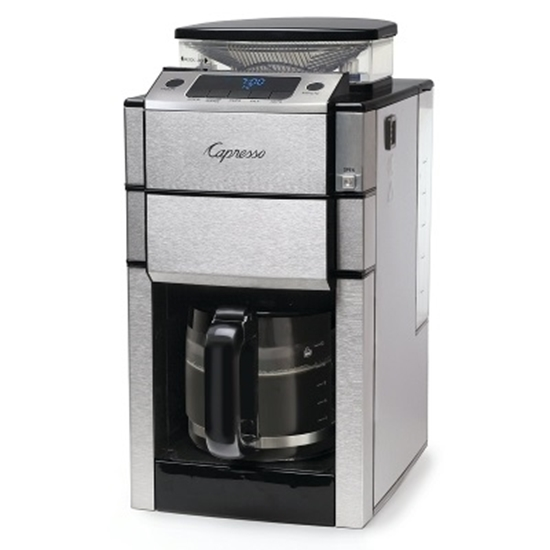 Picture of Capresso TeamPRO+ 12-Cup Coffee Maker & Grinder with Carafe