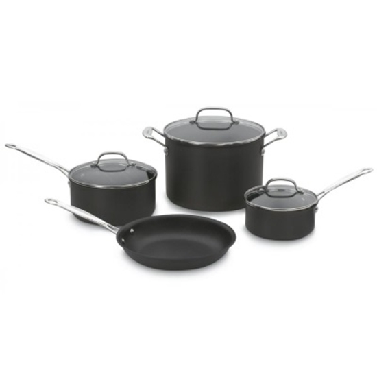 Picture of Cuisinart® Chef's Classic Nonstick Hard Anodized 7PC Set
