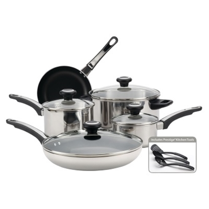 Picture of Farberware High Performance 12PC Stainless Steel Cookware Set