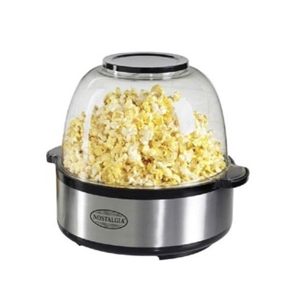 Picture of Nostalgia Electrics Stir-Pop Popcorn Maker - Stainless Steel