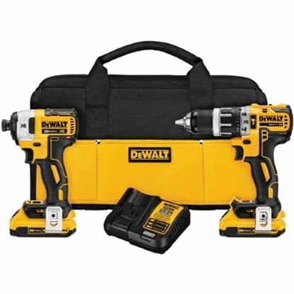 Picture of DeWalt 20V MAX XR Compact Hammerdrill & Impact Driver Kit