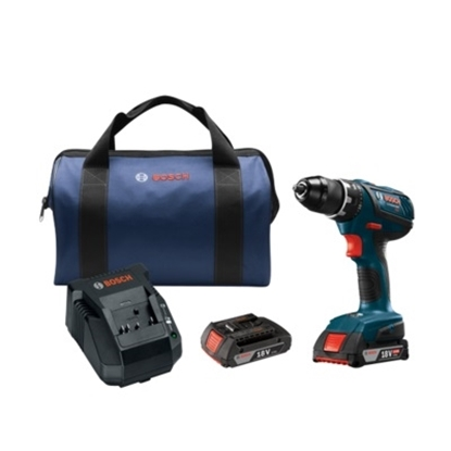 Picture of Bosch 18V Compact Tough 1/2'' Drill/Driver Kit