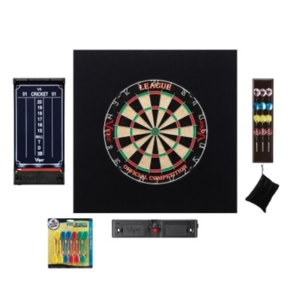 Picture of Viper League Sisal Deluxe Dartboard Set