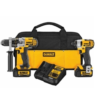 Picture of DeWalt® 20V MAX Li-Ion Hammerdrill/Impact Driver Combo Kit