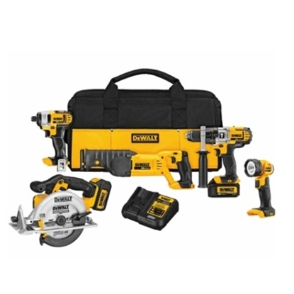Picture of DeWalt® 20V MAX* Premium 5-Tool Combo Kit